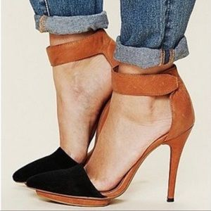*JEFFREY CAMPBELL* Free People Solitaire Heels